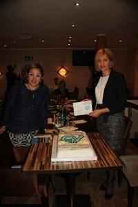 Vorsitzübergabe CYDD Münster 2015 von Nuray Örge an Sevinc Ekinci